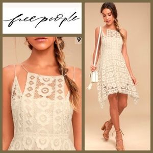NWT! [FREE PEOPLE] Lace Just Like Honey Dress 0